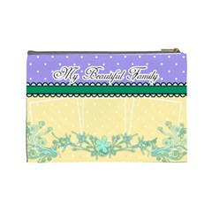 My Beautiful Family By Digitalkeepsakes   Cosmetic Bag (large)   Yfioqw04j4ws   Www Artscow Com Back