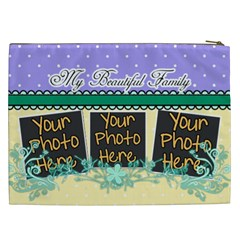 My Beautiful Family By Digitalkeepsakes   Cosmetic Bag (xxl)   68haqea7pb2g   Www Artscow Com Back
