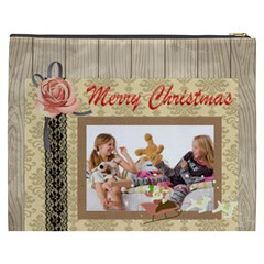 Merry Christmas By Betty   Cosmetic Bag (xxxl)   Jwae7qw3d2r9   Www Artscow Com Back