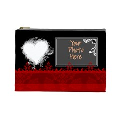 Baroque Love  By Digitalkeepsakes   Cosmetic Bag (large)   Kqimylbn7q5m   Www Artscow Com Front