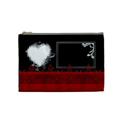 Love By Digitalkeepsakes   Cosmetic Bag (medium)   2ve0r5o6tm3x   Www Artscow Com Front