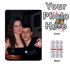 Kalendari By Todorka Nedeva   Playing Cards 54 Designs   Ndpoojo703hf   Www Artscow Com Front - Diamond10