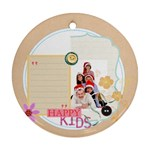 merry christmas - Ornament (Round)