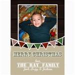 CHRISTMAS 2012 - 5  x 7  Photo Cards