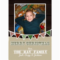 Christmas 2012 By Suzy Ray   5  X 7  Photo Cards   Ppv1tgbzmo7w   Www Artscow Com 7 x5 Photo Card - 5
