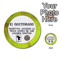 Carcayú By Javier Jimenez Escalante   Multi Purpose Cards (round)   Dbzkjf9l9xgg   Www Artscow Com Front 54