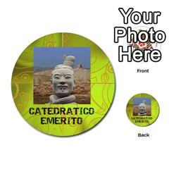 Carcayú By Javier Jimenez Escalante   Multi Purpose Cards (round)   Dbzkjf9l9xgg   Www Artscow Com Front 8