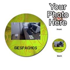 Carcayú By Javier Jimenez Escalante   Multi Purpose Cards (round)   Dbzkjf9l9xgg   Www Artscow Com Front 34