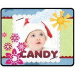 candy - Fleece Blanket (Medium)