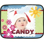 candy - Double Sided Fleece Blanket (Mini)