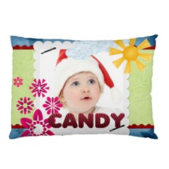 Candy By Jo Jo   Pillow Case (two Sides)   Vdljgs0mg94v   Www Artscow Com Back
