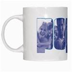 Poppy Mug - White Mug