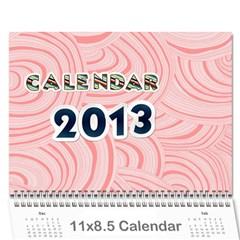 Cal 2013 By Shoshana   Wall Calendar 11  X 8 5  (12 Months)   0pr4myqbwnaq   Www Artscow Com Cover