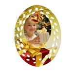 Christmas - Ornament (Oval Filigree)