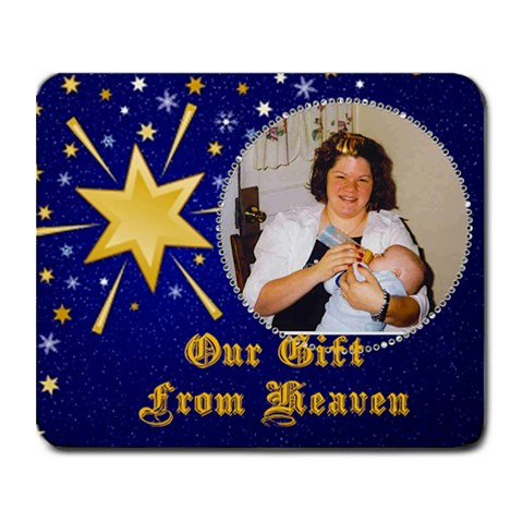 Our Gift Mouse Pad 2 By Suzie   Collage Mousepad   Yxql60p6cb4t   Www Artscow Com 9.25 x7.75 Mousepad - 1