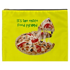 Pizza Cosmetic Bag (XXXL) by OurInspiration