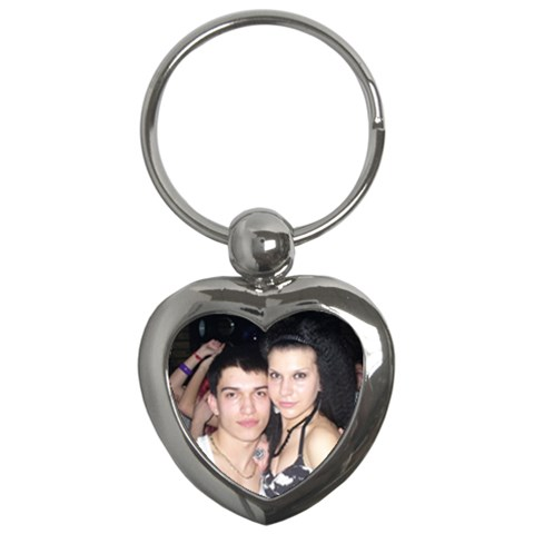 Heart6 By Greta Velikova   Key Chain (heart)   Rxppkp4bl08l   Www Artscow Com Front