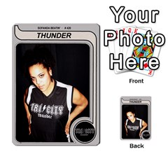 Sb Thunder By Matthew Head   Multi Purpose Cards (rectangle)   Rnq2w9l5yyg3   Www Artscow Com Front 2