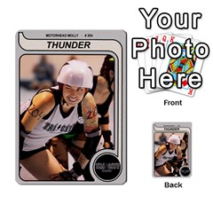 Mm Thunder By Matthew Head   Multi Purpose Cards (rectangle)   Puagis1sd8nb   Www Artscow Com Front 27