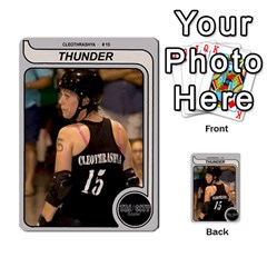 Ct Thunder By Matthew Head   Multi Purpose Cards (rectangle)   Hligf95mxvk4   Www Artscow Com Front 25