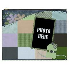 Blustery Day Xxxl Cosmetic Bag 1 By Lisa Minor   Cosmetic Bag (xxxl)   Lwp5r0yw9nzm   Www Artscow Com Front
