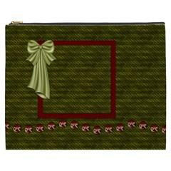 Old World Christmas Xxxl Cosmetic Bag By Lisa Minor   Cosmetic Bag (xxxl)   2pbntpecuzei   Www Artscow Com Front