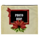 Happy Holidays XXXL Cosmetic Bag 3 - Cosmetic Bag (XXXL)