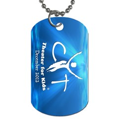 Mermaid By Amber Trementozzi   Dog Tag (two Sides)   9aht3b44k7ns   Www Artscow Com Back