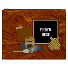 Bakers Dozen Xxxl Cosmetic Bag By Lisa Minor   Cosmetic Bag (xxxl)   Pv2pvc7n58ea   Www Artscow Com Front