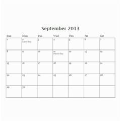 Whocalendar By Lindy Hafner   Wall Calendar 8 5  X 6    Q9gii81qfzen   Www Artscow Com Sep 2013