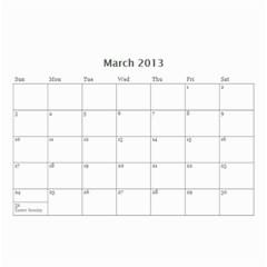 Whocalendar By Lindy Hafner   Wall Calendar 8 5  X 6    Q9gii81qfzen   Www Artscow Com Mar 2013