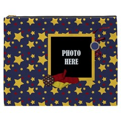 Primary Cardboard Xxxl Cosmetic Bag 1 By Lisa Minor   Cosmetic Bag (xxxl)   Rm5pn8ehj7mo   Www Artscow Com Front