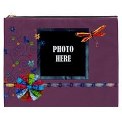 Tye Dyed Xxxl Cosmetic Bag 1 By Lisa Minor   Cosmetic Bag (xxxl)   Gymn2txuumlu   Www Artscow Com Front