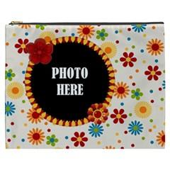 Celebrate May Xxxl Cosmetic Bag 1 By Lisa Minor   Cosmetic Bag (xxxl)   68vdwc4zp8r7   Www Artscow Com Front