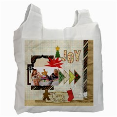 Merry Christmas By Betty   Recycle Bag (two Side)   G13a73gep89l   Www Artscow Com Front