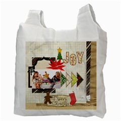 Merry Christmas By Betty   Recycle Bag (two Side)   G13a73gep89l   Www Artscow Com Back