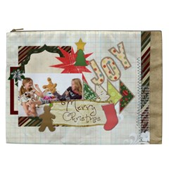 Merry Chriatmas By Betty   Cosmetic Bag (xxl)   Awjtpb5mx88q   Www Artscow Com Front