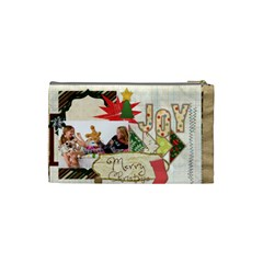 Merry Christmas By Betty   Cosmetic Bag (small)   C4tt59go2h2t   Www Artscow Com Back