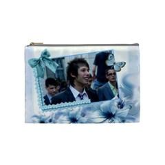 Chanta By Ivanka Georgieva   Cosmetic Bag (medium)   U70j7piqpczb   Www Artscow Com Front