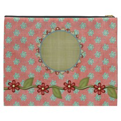 April 365 Xxxl Cosmetic Bag 1 By Lisa Minor   Cosmetic Bag (xxxl)   Kqad8xcv5scv   Www Artscow Com Back