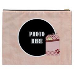 May 365 Xxxl Cosmetic Bag 1 By Lisa Minor   Cosmetic Bag (xxxl)   5w6c7zrk8912   Www Artscow Com Back