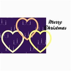 10 Christmas Cards 3 (hearts) Your Photo,text By Riksu   4  X 8  Photo Cards   Sr9fbfbsdb1k   Www Artscow Com 8 x4 Photo Card - 9