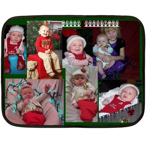 Xmas Blanket By Big Sexy   Fleece Blanket (mini)   1bomes7xtv5h   Www Artscow Com 35 x27 Blanket