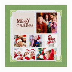 Merry Christmas By Mac Book   Medium Glasses Cloth (2 Sides)   Bjwov3d9vvzw   Www Artscow Com Front