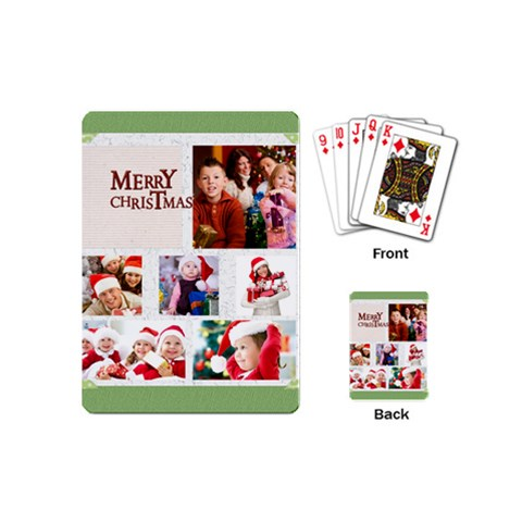 Xmas By Mac Book   Playing Cards (mini)   Qn1ij17m0drx   Www Artscow Com Back