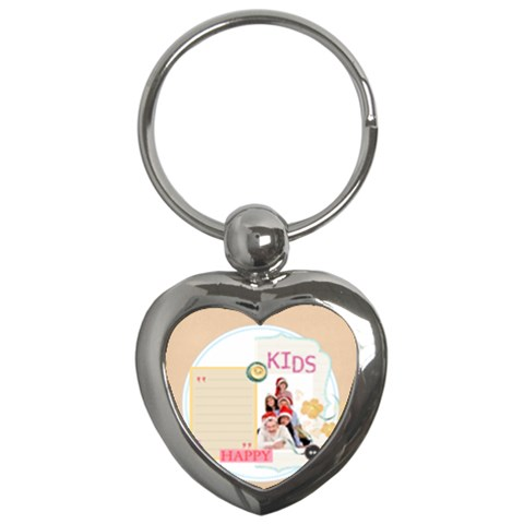 Kids By Betty   Key Chain (heart)   Tgqhm09uhpk0   Www Artscow Com Front