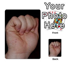 Photo Final By Jess Giglio   Multi Purpose Cards (rectangle)   Pudd3efyacil   Www Artscow Com Back 1