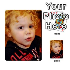 Photo Final By Jess Giglio   Multi Purpose Cards (rectangle)   Pudd3efyacil   Www Artscow Com Front 53