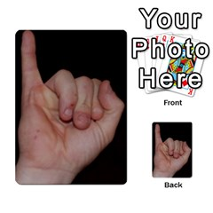 Photo Final By Jess Giglio   Multi Purpose Cards (rectangle)   Pudd3efyacil   Www Artscow Com Back 9