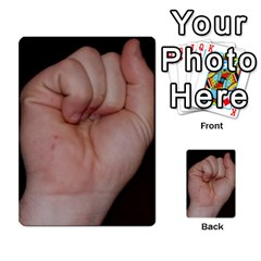 Photo Final By Jess Giglio   Multi Purpose Cards (rectangle)   Pudd3efyacil   Www Artscow Com Back 19